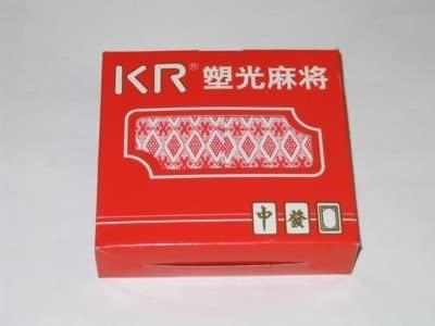 KR Chinese Traditional Mahjong Mah Jong Jongg Travel Playing Cards