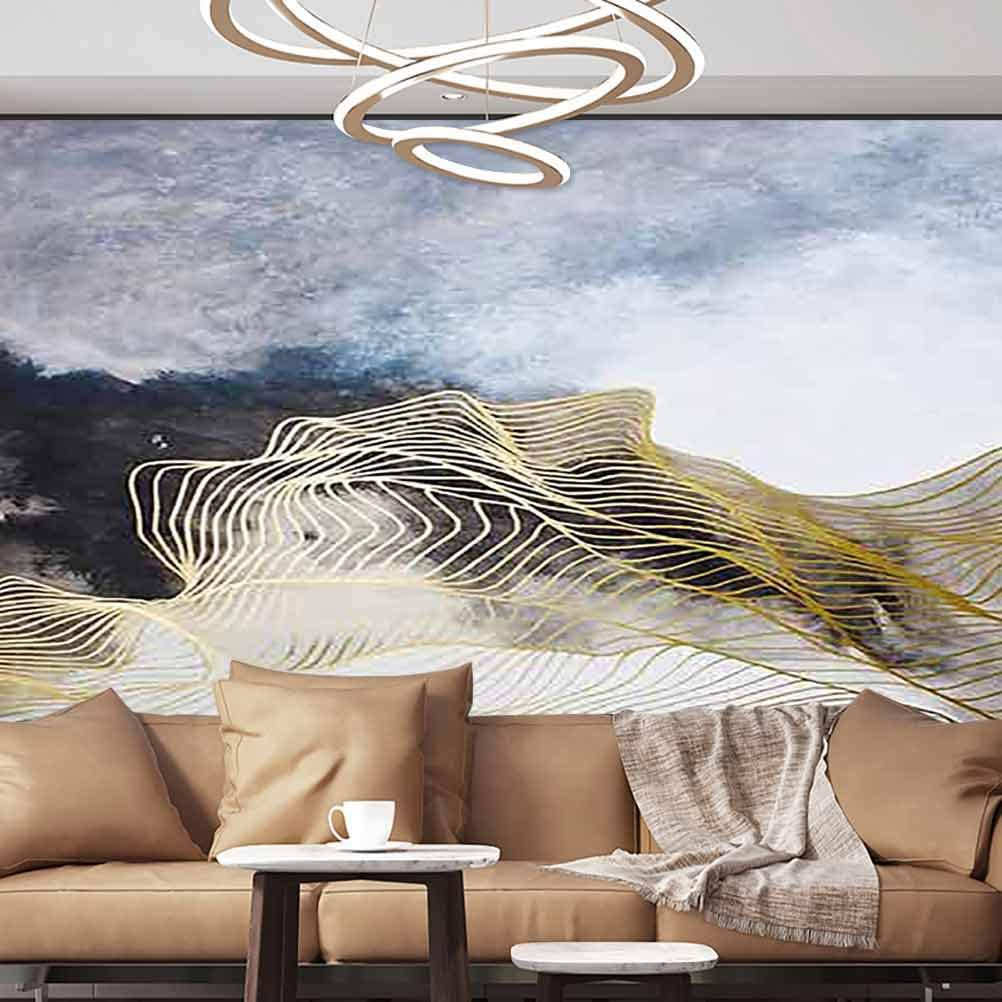 Albert Lindsay Backdrop Wall Stickers Murals Color Abstract Art Style Wallpaper Photoposter,154x122/392x309 cm,for Office Nursery School Family Decor Playroom Birthday Gift