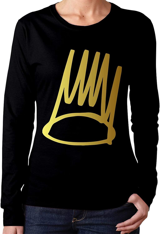 J Cole Women's Long Sleeve Round Neck T-Shirt