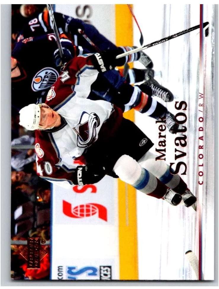 2007-08 Upper Deck #57 Marek Svatos Avalanche