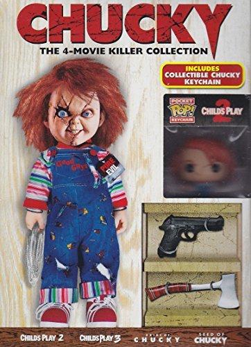 Chucky: The 4-Movie Killer Collection (Includes Collectible Chucky Keychain) [DVD]