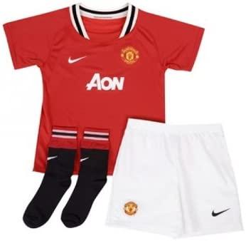 Manchester United Home Toddler's Soccer Kit- 2011/12 (M)