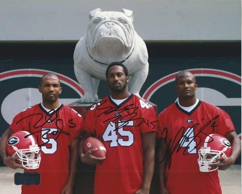 Champ, Boss, Ronald Bailey Autographed/Signed Georgia Bulldogs 11x14 NCAA PhotoBulldog