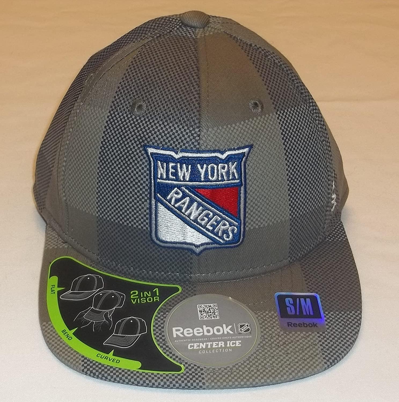Reebok New York Rangers Flexfit Hat Size S/M M078Z