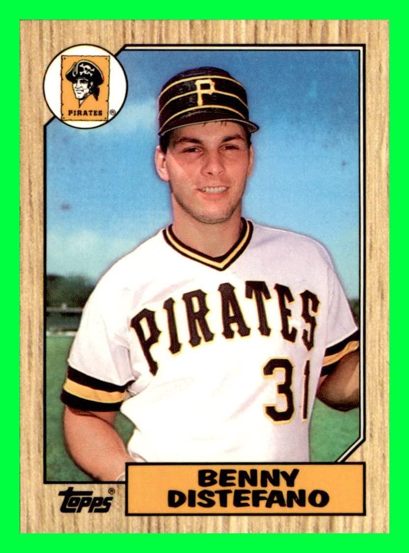 1987 Topps Tiffany #651 Benny Distefano PITTSBURGH PIRATES