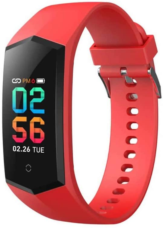 Fitness Tracker HR Smart Watch/Blood Pressure & Heart Rate & Sleep Monitor/IP67 Waterproof Sport Running & Walking Pedometer/Activity Calories Step Counter Gift for Women Men IOS & Android phones