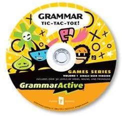GrammarActive Grammar Tic Tac Toe Games Volume 1
