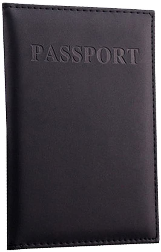 BCDshop Dedicated Travel Passport Case ID Card Cover Passport Holder Protector Organizer Leather