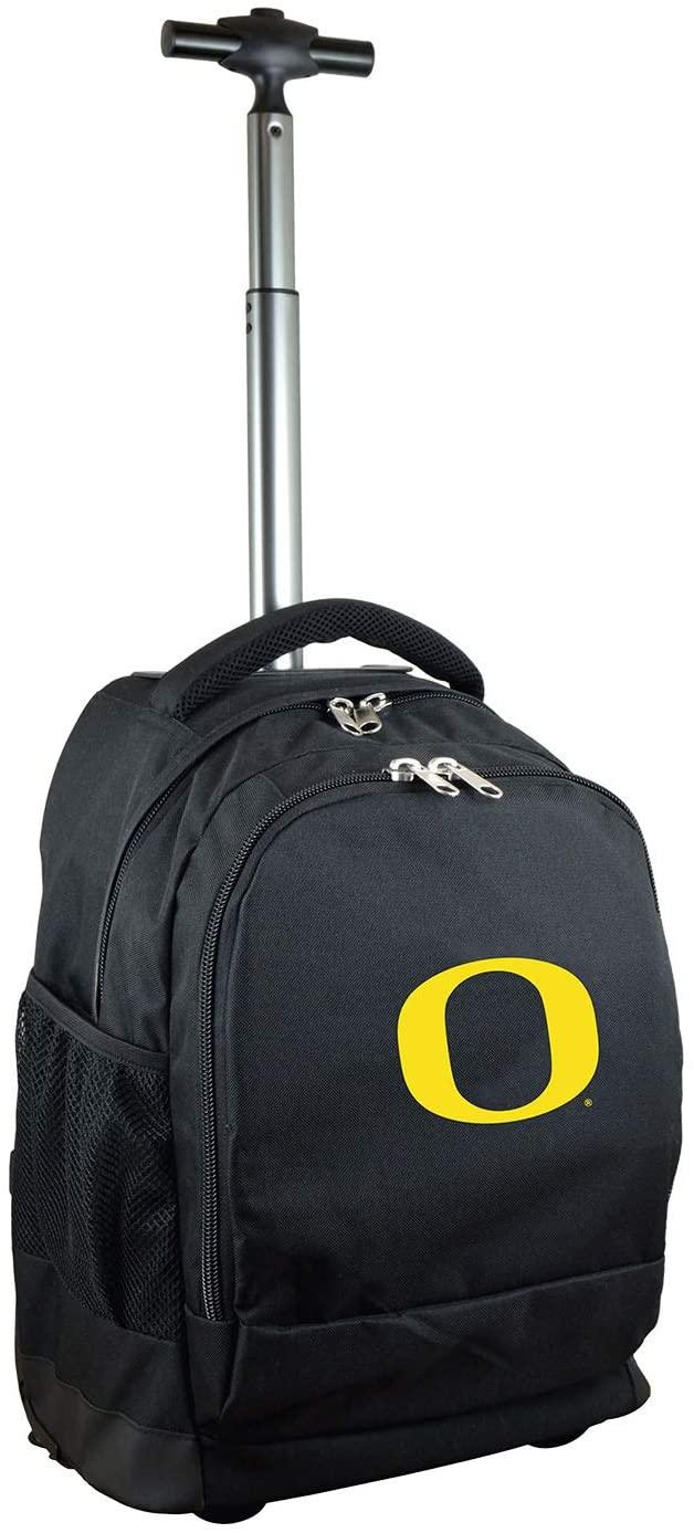 NCAA Wheeled Backpack, 19-inches, Black