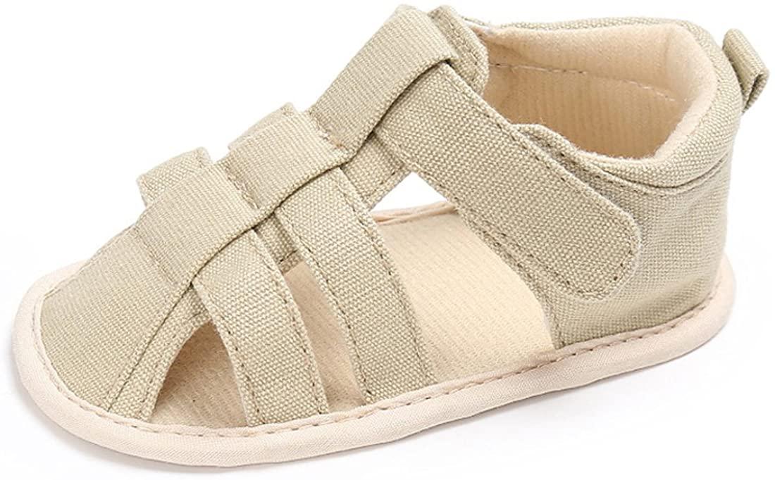 Gaorui Baby Shoes Toddler Boy Girls First Walker Slippers Anti-Slip Sneaker Infant Sandals Summer