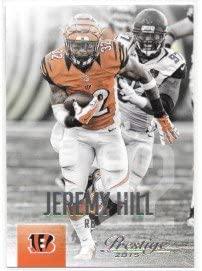 Jeremy Hill 2015 Prestige Cincinnati Bengals Card #67