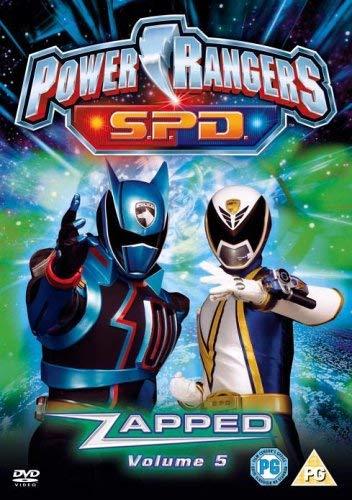Power Rangers - Space Patrol Delta - Vol.5 Zapped (Non US format, PAL, Region 2)