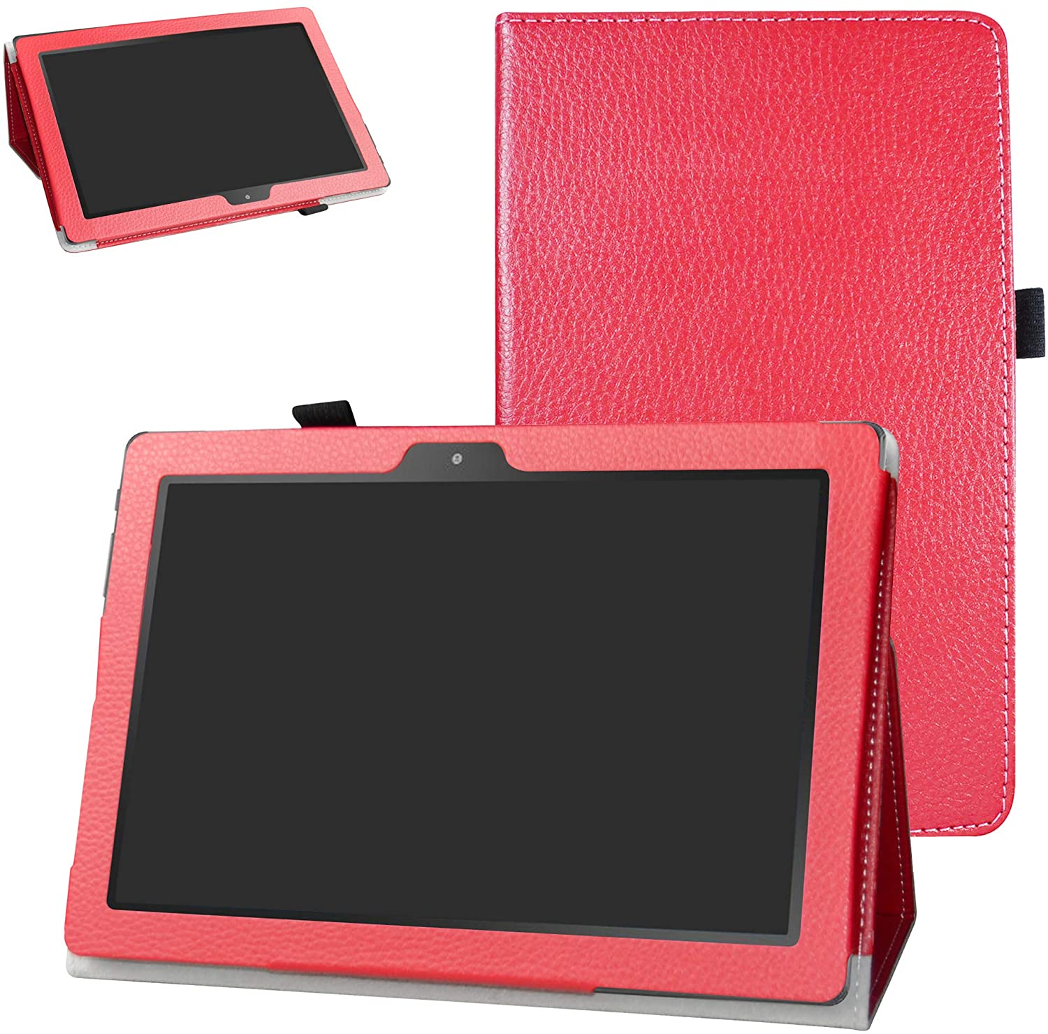 Digiland DL1023 10.1 Tablet Case,Digiland DL1016 10.1 Tablet Case,Bige PU Leather Folio 2-Folding Stand Cover for 10.1