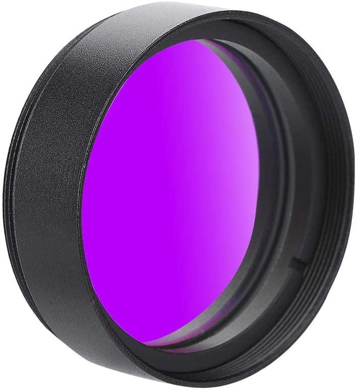 Pomya 1.25 inch Moon Filter, High Contrast Sky Glow & Moon Filter Optical Glass Deep Sky Filter for Telescope Eyepiece