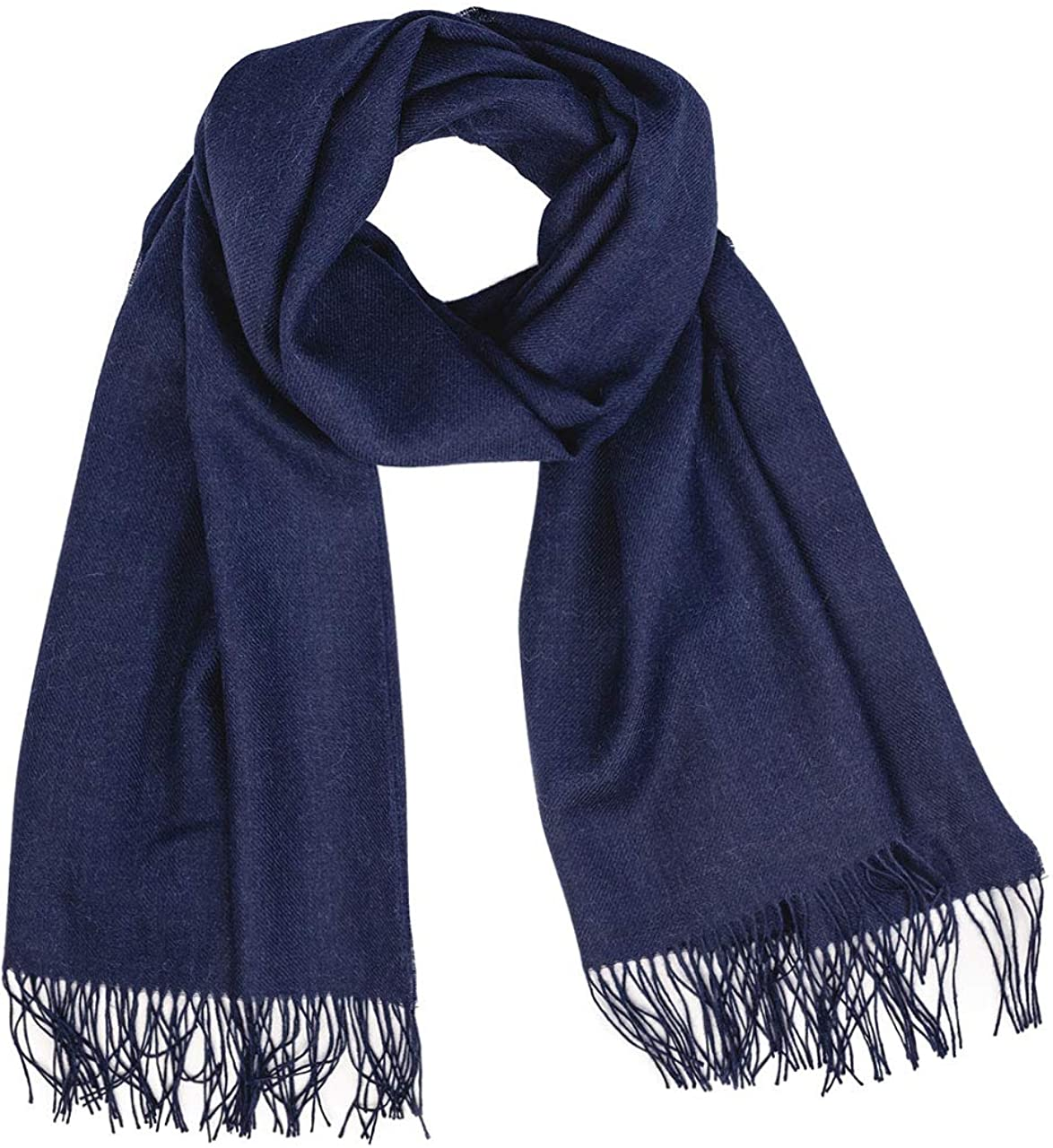 100% Baby Alpaca Wool Oversized Scarf & Shawl, Ethically Sourced, Hypoallergenic - Unisex | 27.5 x 78.5 inches