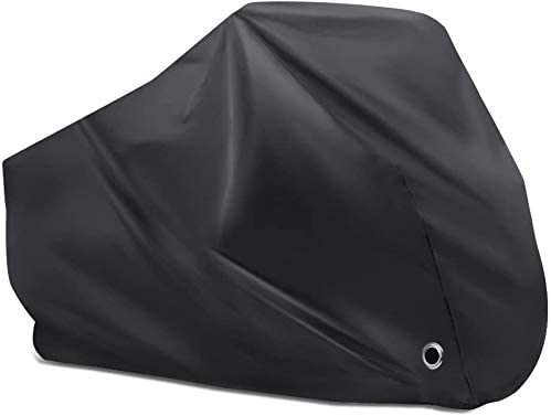 KOOOGEAR Bicycle Cover, Waterproof, Sunproof and Dustproof Outdoor Bicycle Cover for Mountain Bikes, with Storage Bag.