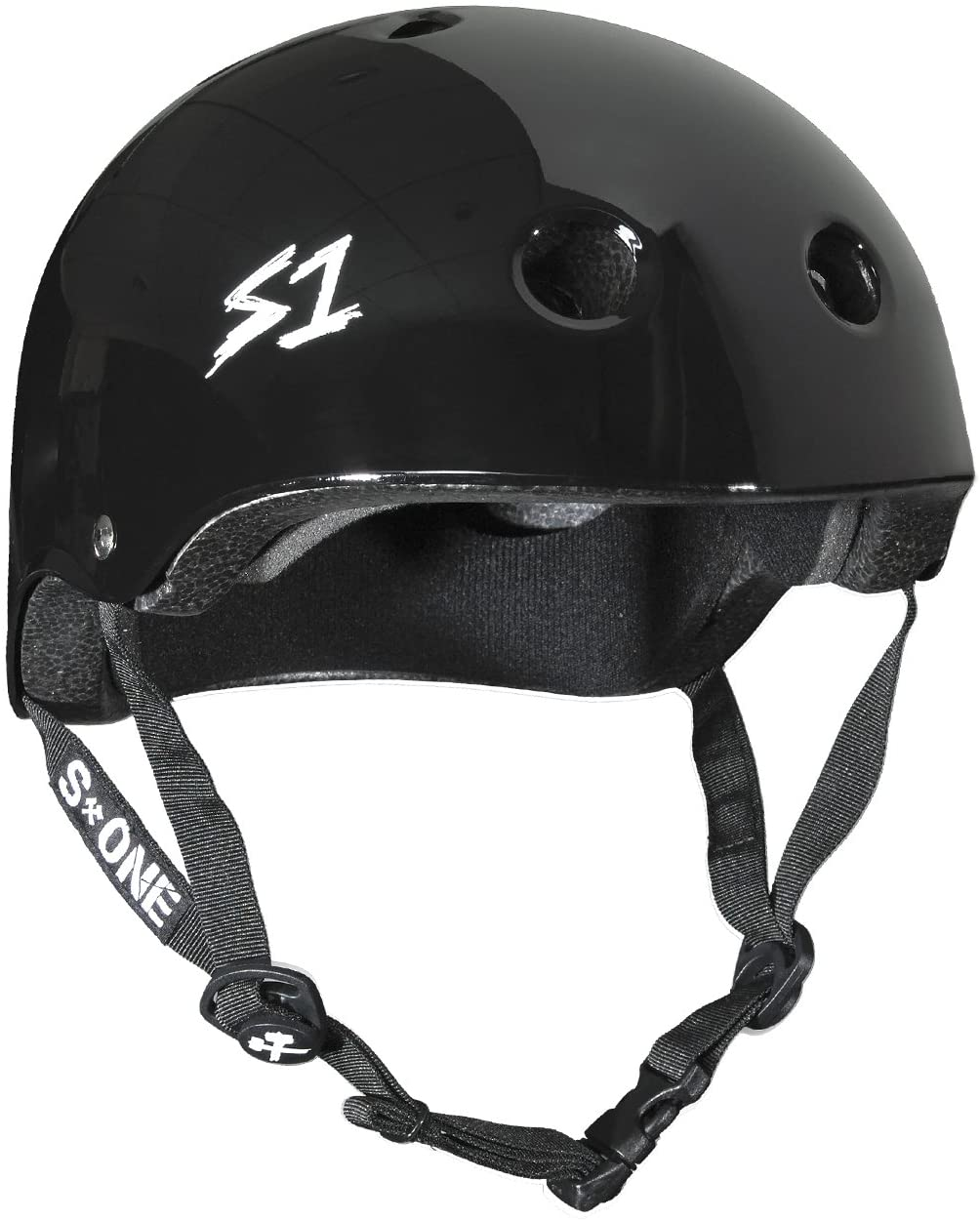 S-ONE Lifer CPSC - Multi-Impact Helmet - Black Gloss Large (22