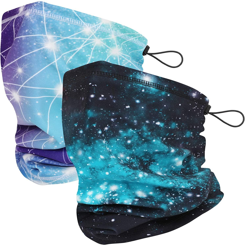 Winter Autumn Neck Gaiter Bandanas for Men Women, Cold Weather Multifunctional Warmer Soft Balaclava Face Scarf