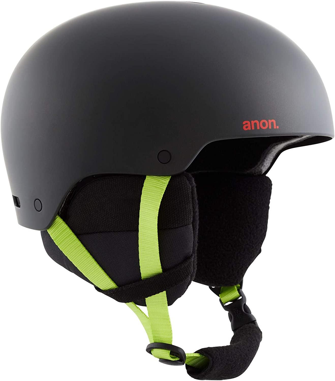 Anon Men's Raider 3 Helmet, Black Pop, Large