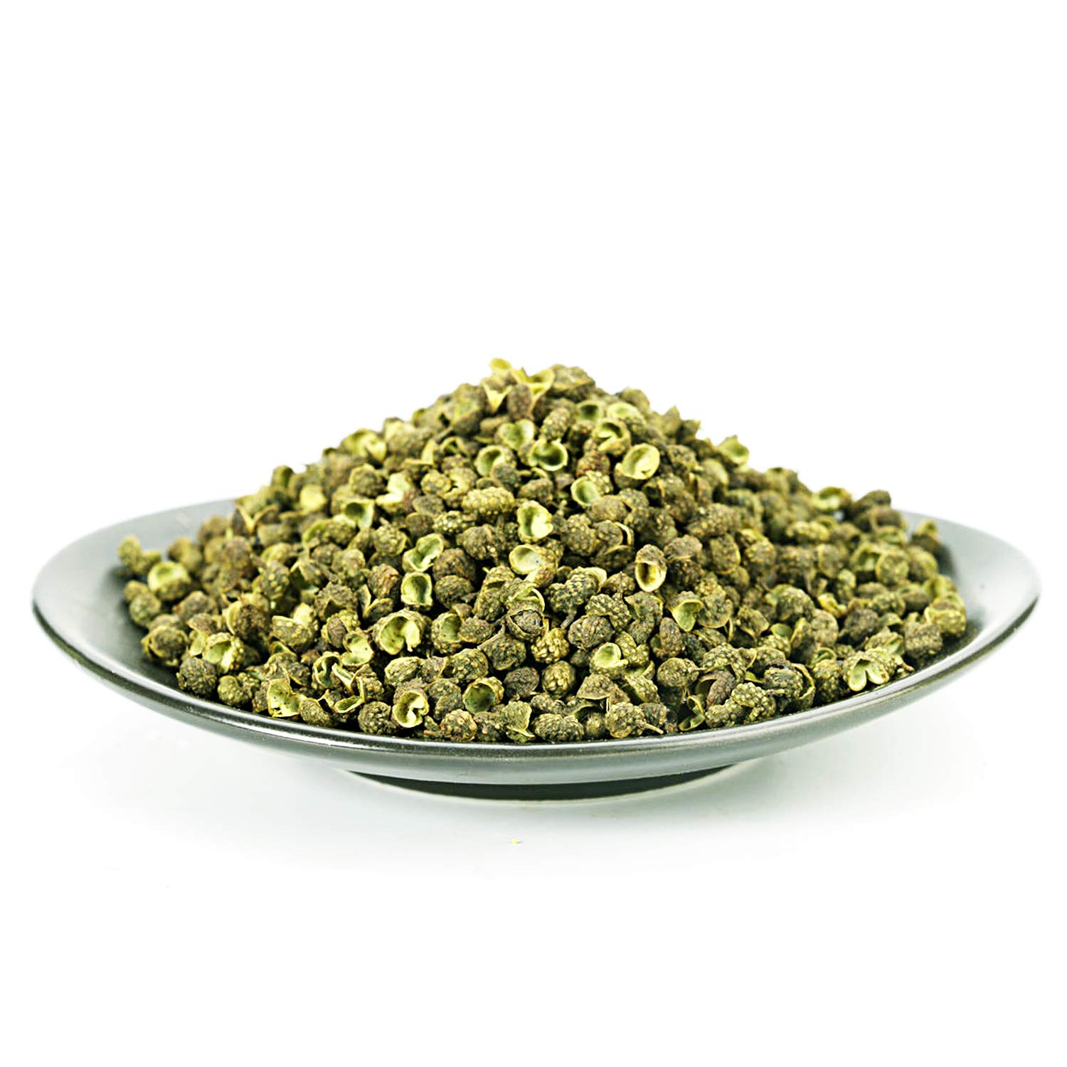 Goofoo Sichuan Green Peppercorns Grade AAA+ Premium Authentic Chinese Whole Peppercorn,Few Seeds, Strong Flavor,2.1 oz