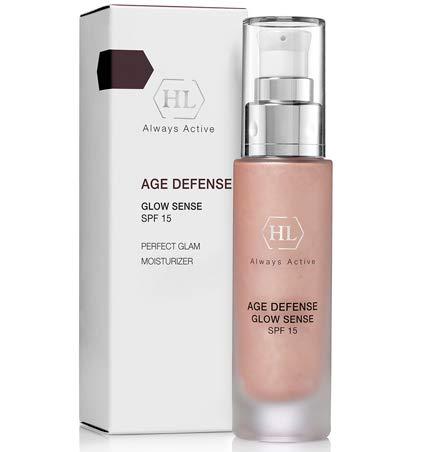 HL Age Defense Glowsense SPF15, Unique moisturizer with a silvery shimmer 1.7 fl.oz