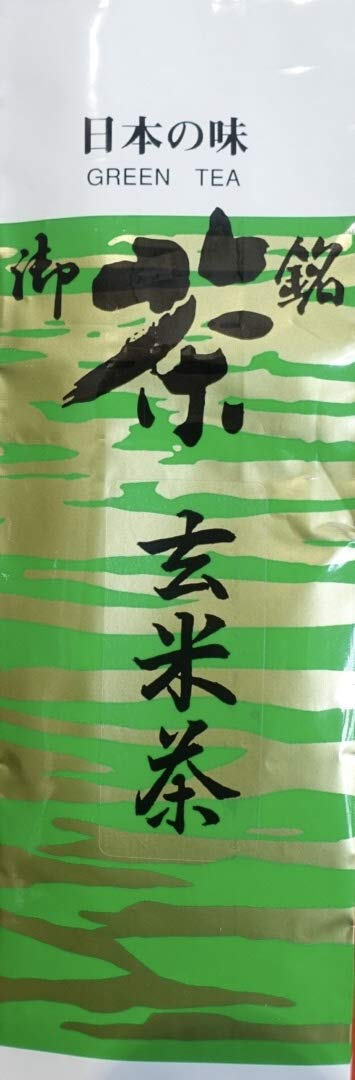 Japanese Genmai-cha Green Tea 188g Made in Uji Kyoto, Since 1700s, Hot and Cold ,Awarded 1st prize