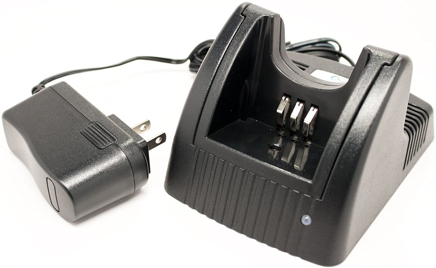 Motorola NNTN4851A Two-Way Radio Charger Replacement (100-240V) - Compatible with Motorola CP200XLS, CP200, PR400, CP200XLS, CP150, EP450, CP040, NNTN4497, CP140, CP160, CP180, GP3188, GP3688, MTX888, NNTN4851, NNTN4970, NNTN4496AR, NNTN4851A, CP340, CP360, CP380, GP3138, NNTN4496, MTX1000, NTN4851, NNTN4851AR, NNTN4851R