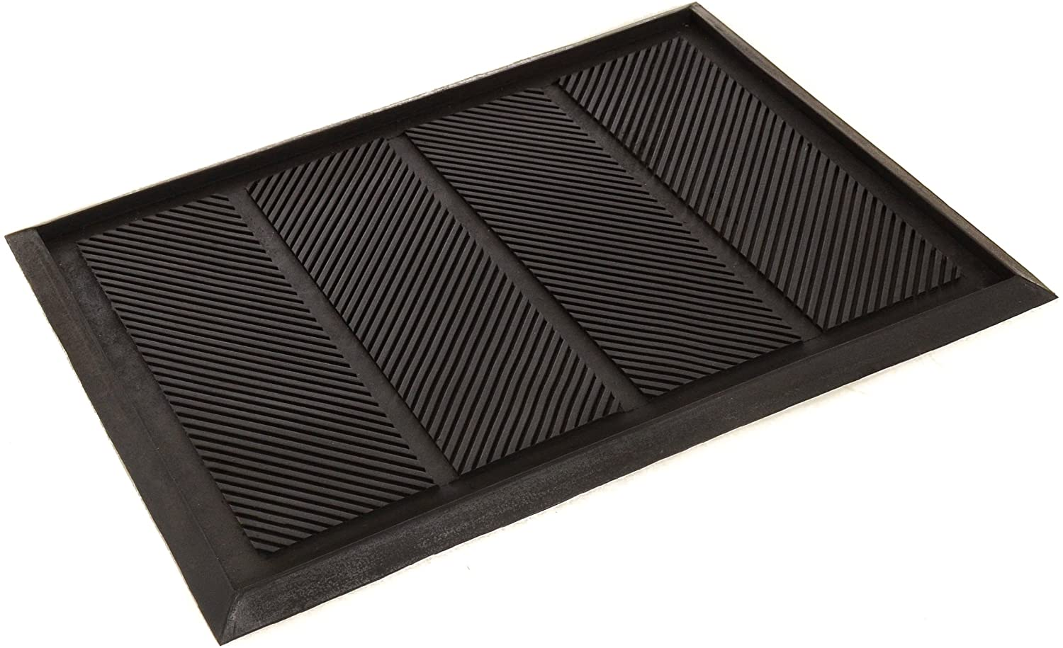 Milliard Large Rubber Boot Tray and Mudroom Doormat (17.5 inches X 25.5 inches)