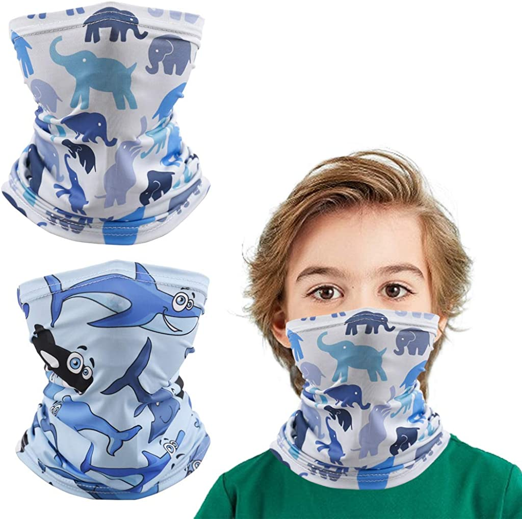 Neck Gaiter 12+ Ways To Wears for 6-14 Years Old kids