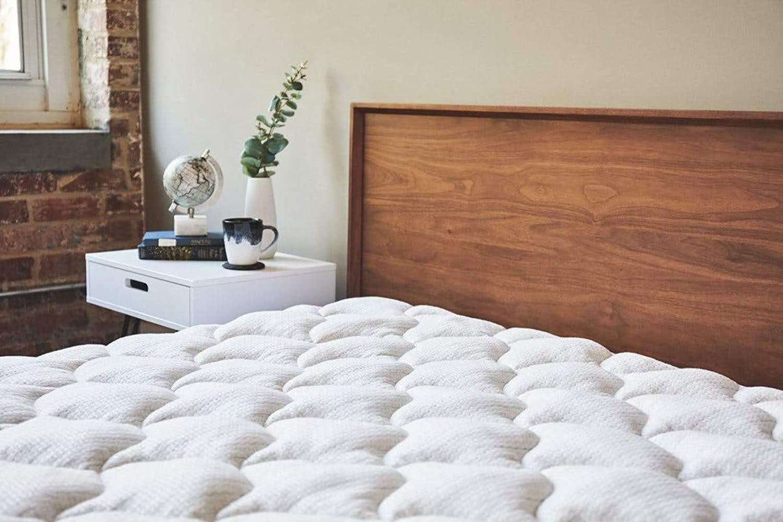 ViscoSoft Anti-Static Mattress Pad Twin XL   Extra Plush Pillowtop Mattress Topper for Dry Spaces