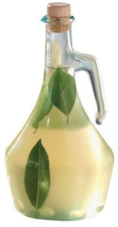 Tablecraft H9222 Green Tint Glass Portabella 16 Oz. Olive Oil Bottle-H9222 by Tablecraft