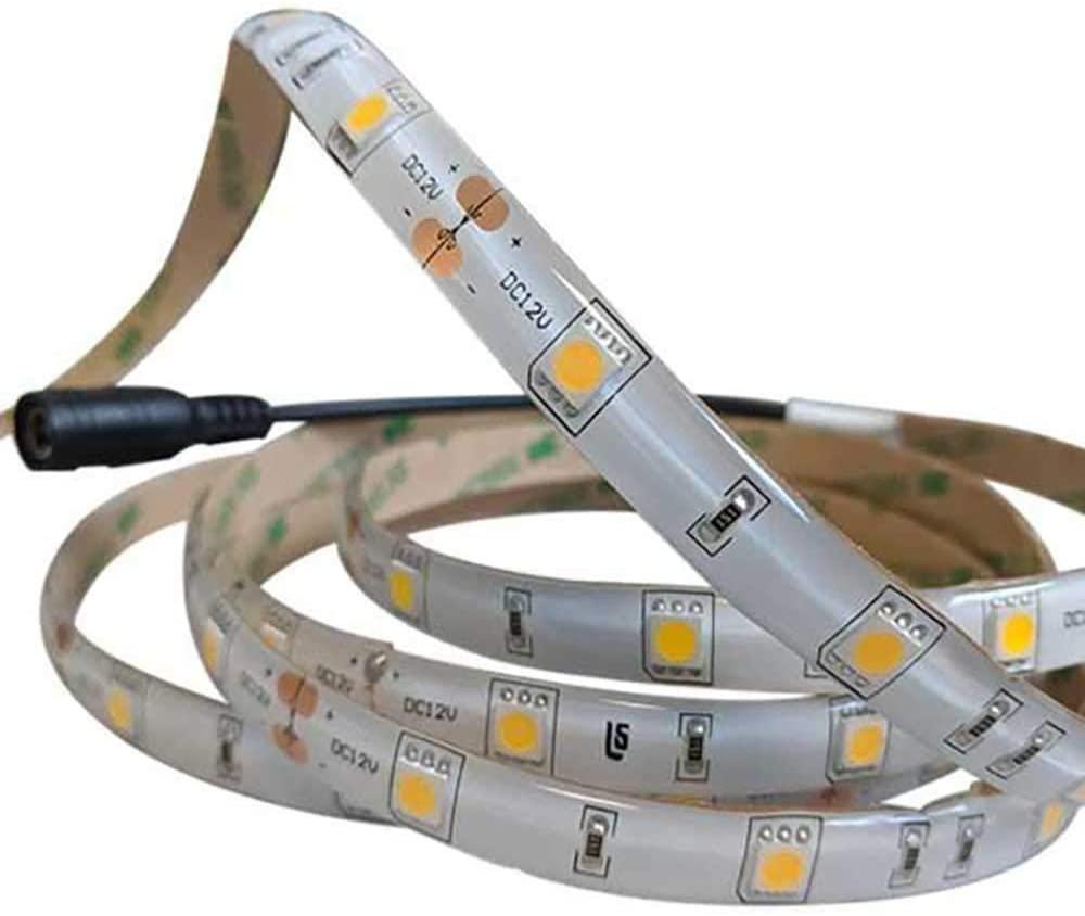 12V Waterproof LED Flex Strip - 12ft. Green