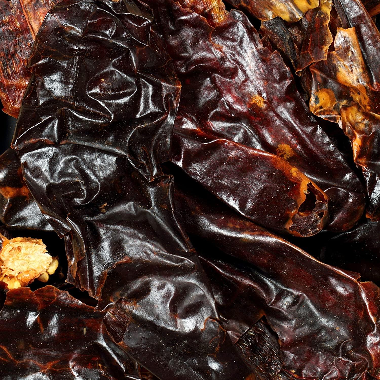 The Spice Lab No. 156 - De-Stemmed New Mexico Chiles - Kosher Gluten-Free Non-GMO All Natural Spice - 1 lb Resealable Bag