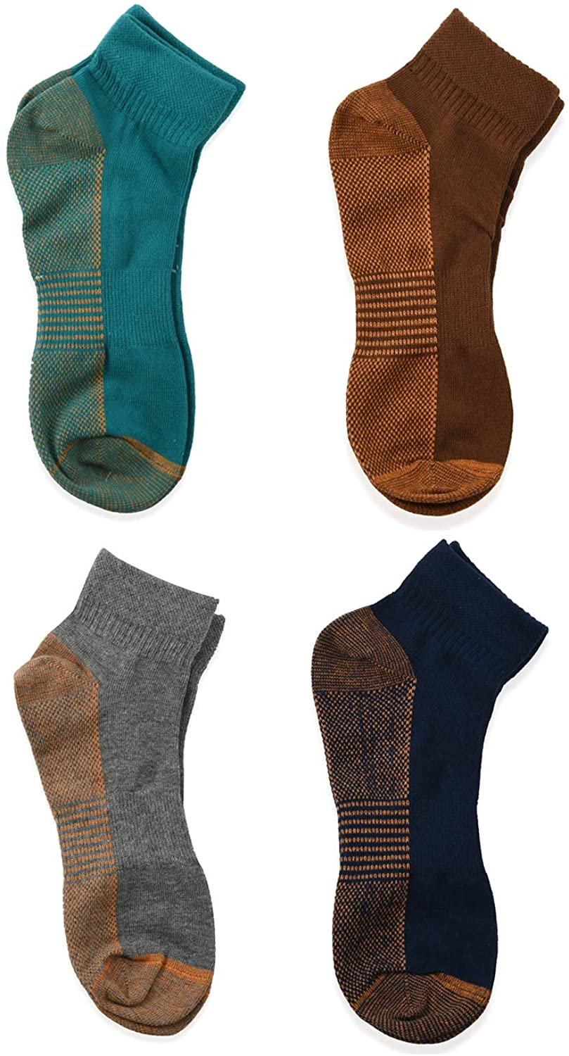 Ankle Length Copper Compression Socks Multicolor Breathable Copper Infused