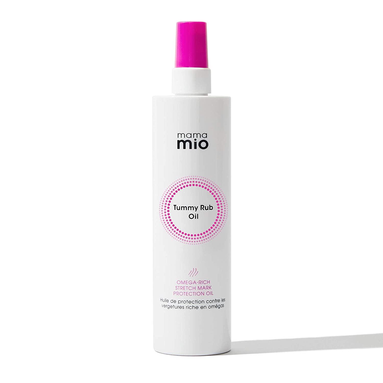 Mama Mio Tummy Rub Oil Supersize, Bergamot, orange, lemon/mandarin, violet, orris/patchouli, vanilla, 6.8 fl. oz.