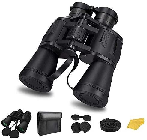 20x50 Binoculars for Adults Waterproof HD Binoculars Perfect for Bird Watching Travel Hunting Wildlife