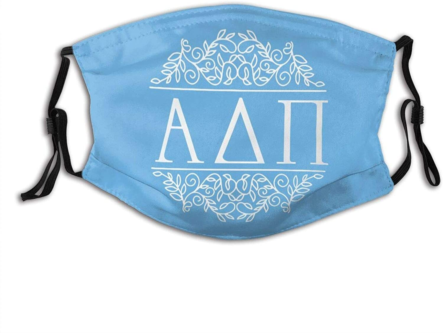 Pi Kappa Phi Outdoor Mask,Protective 5-Layer Activated Carbon Filters Adult Men Women Bandana