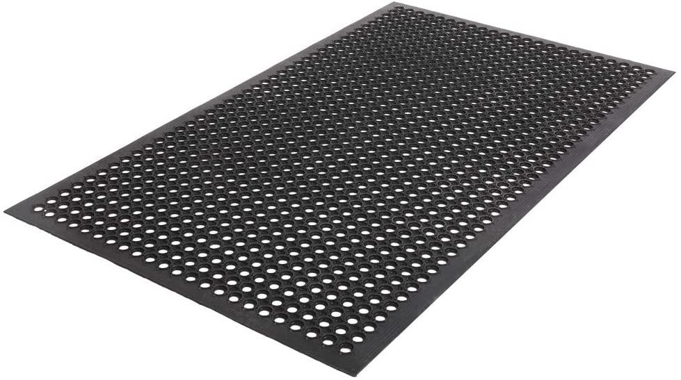 Non-Slip Rubber Floor Mat Anti-Fatigue Mat Restaurant Bar Floor Mat Multi-Functional Heavy Duty Bath Mat 36