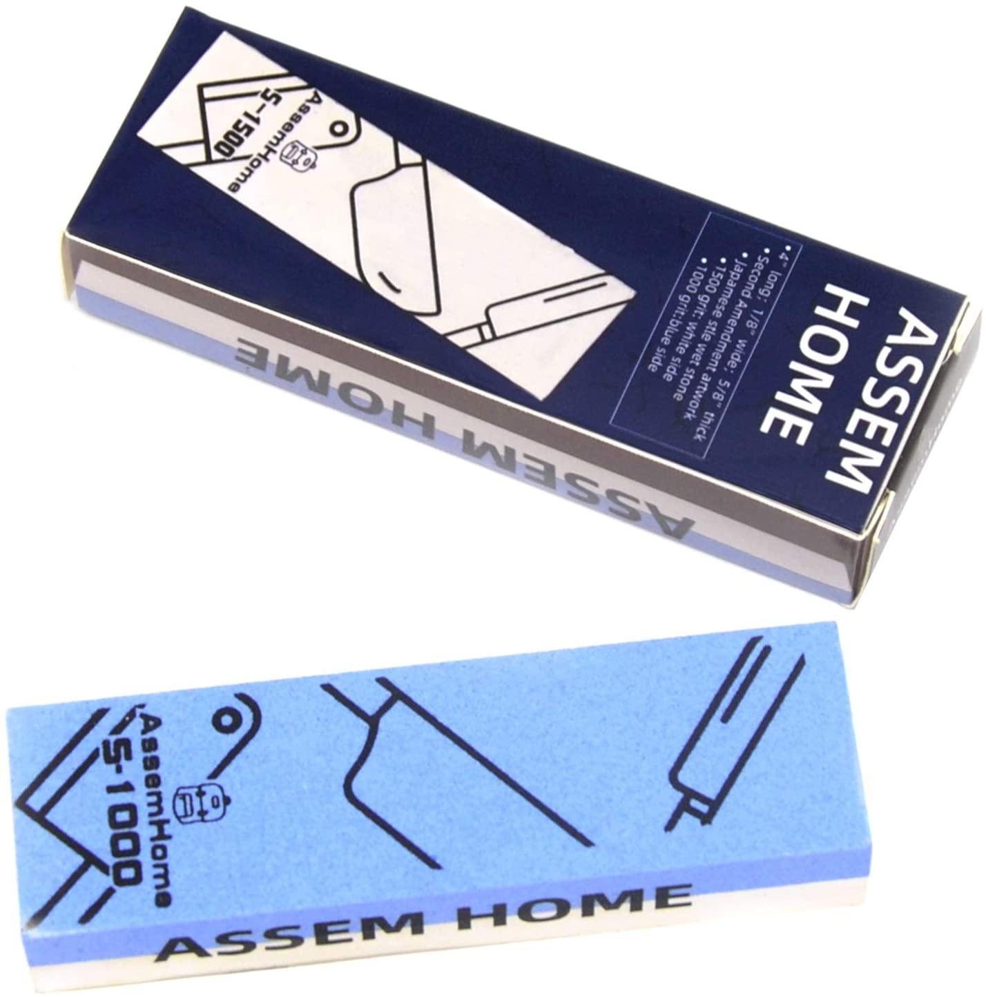 Fine Whetstone Professional Knife Sharpener Wet Sharpening Stone Dual Sided 1000/1500 Grit Water Stones Polishing Stone for Kitchen Tools