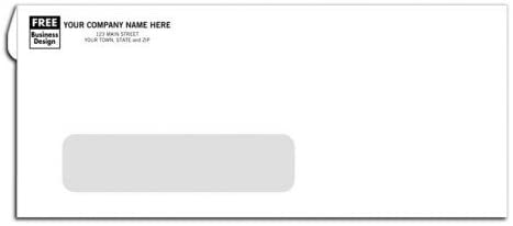 #10 Window Business Envelopes
