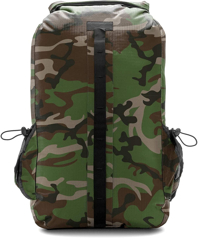 Aqua Quest Sport 30 Waterproof Backpack Drybag 30 L - Black, Blue and Camo