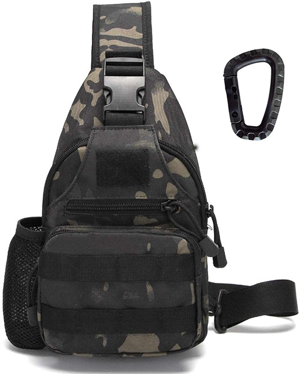 Ydmpro Tactical Sling Bag, Chest Pack Molle Daypack Military Crossbody Shoulder Bags