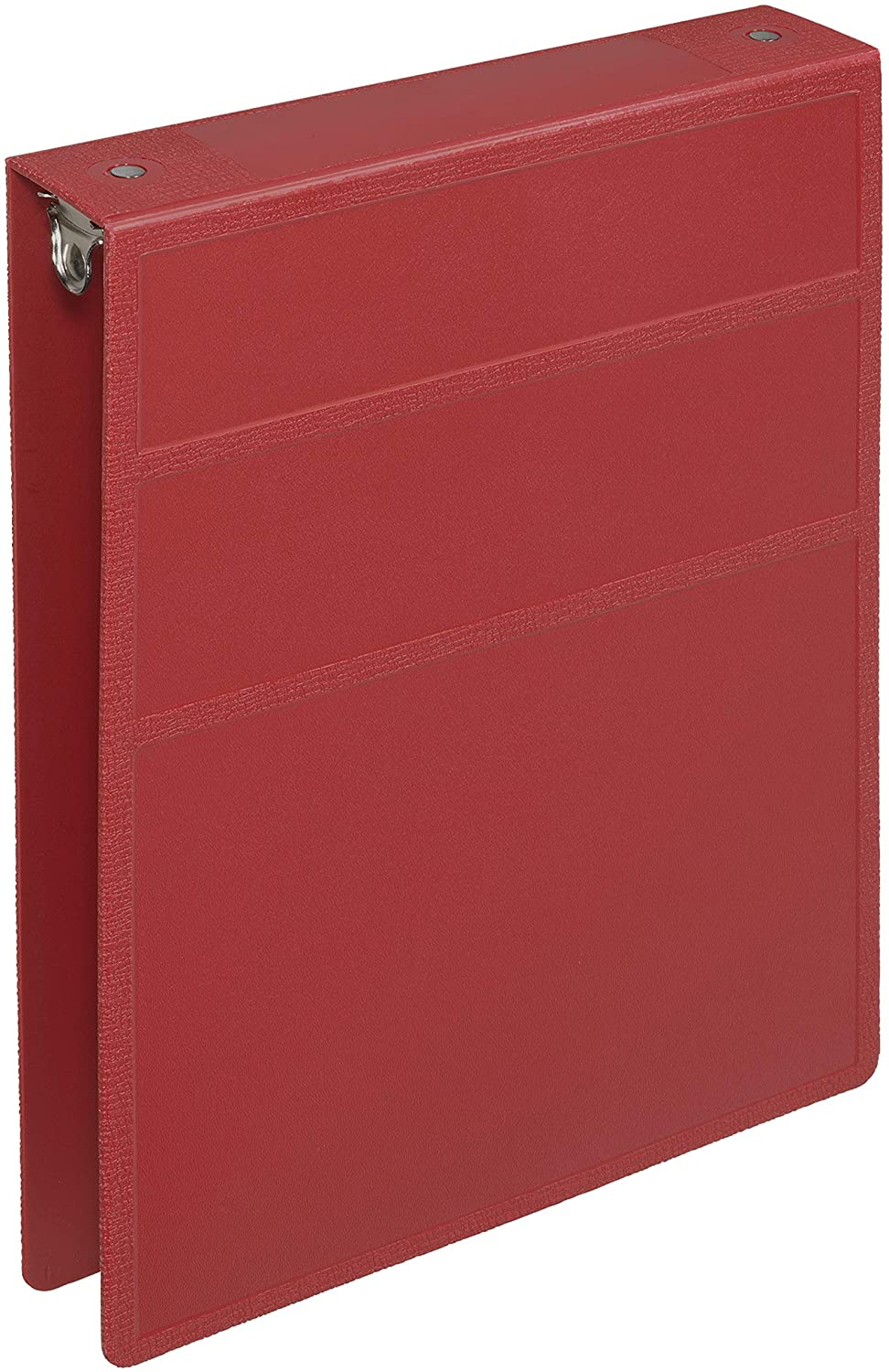 Carstens 1.5-Inch Heavy Duty 3-Ring Binder - Top Opening, Brick Red