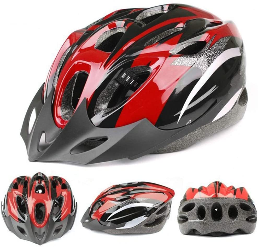 Fishoneion Bicycle Helmet,Unisex Bicycle Helmet MTB Road Cycling Mountain Bike Sports Safety Helmet,Specialized for Men Women Safety Protection Adjustable Lightweight Helmet