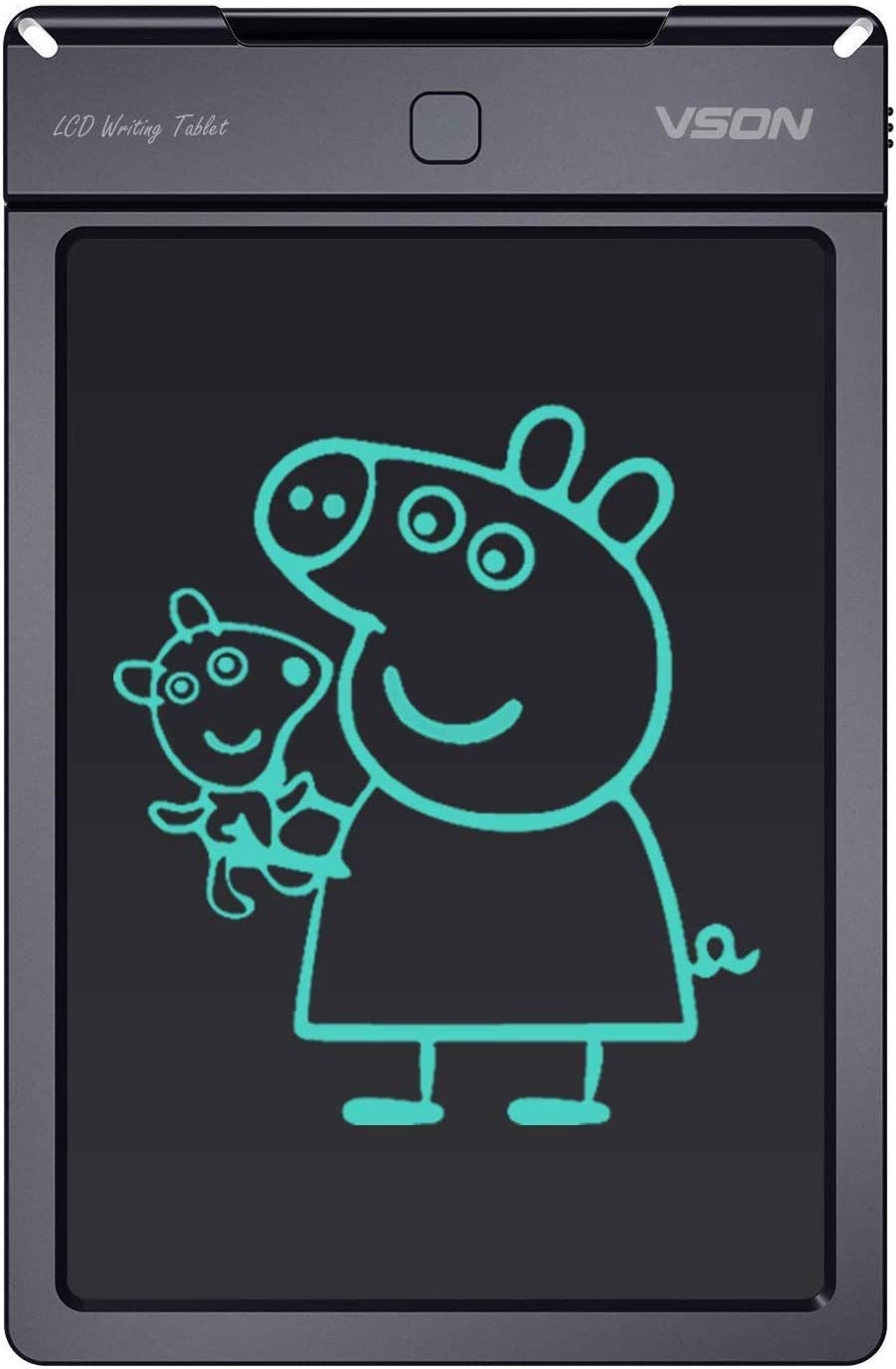 VSON LCD Writing Tablet 9 Inch Electronic Doodle Board Kids Drawing Tablet,Best Gifts for Kids Black