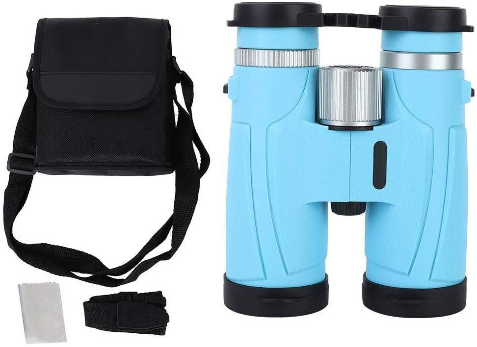 Binoculars - 8x42 Binoculars HD BAK4 Green Film Telescope Travel Sightseeing Binoculars for Outdoor