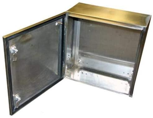 SNB 3754 SS-Metal Enclosure, SNB Series, Sheet, Wall Mount, Stainless Steel, IP66, NEMA 1, 2, 4, 4X, 12