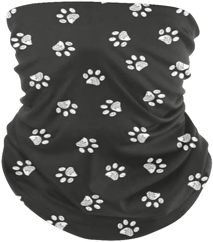 Balaclava Face Scarf Bandanas Art Mandala Neck Gaiter for Festival Out Doors Dust UV Protection