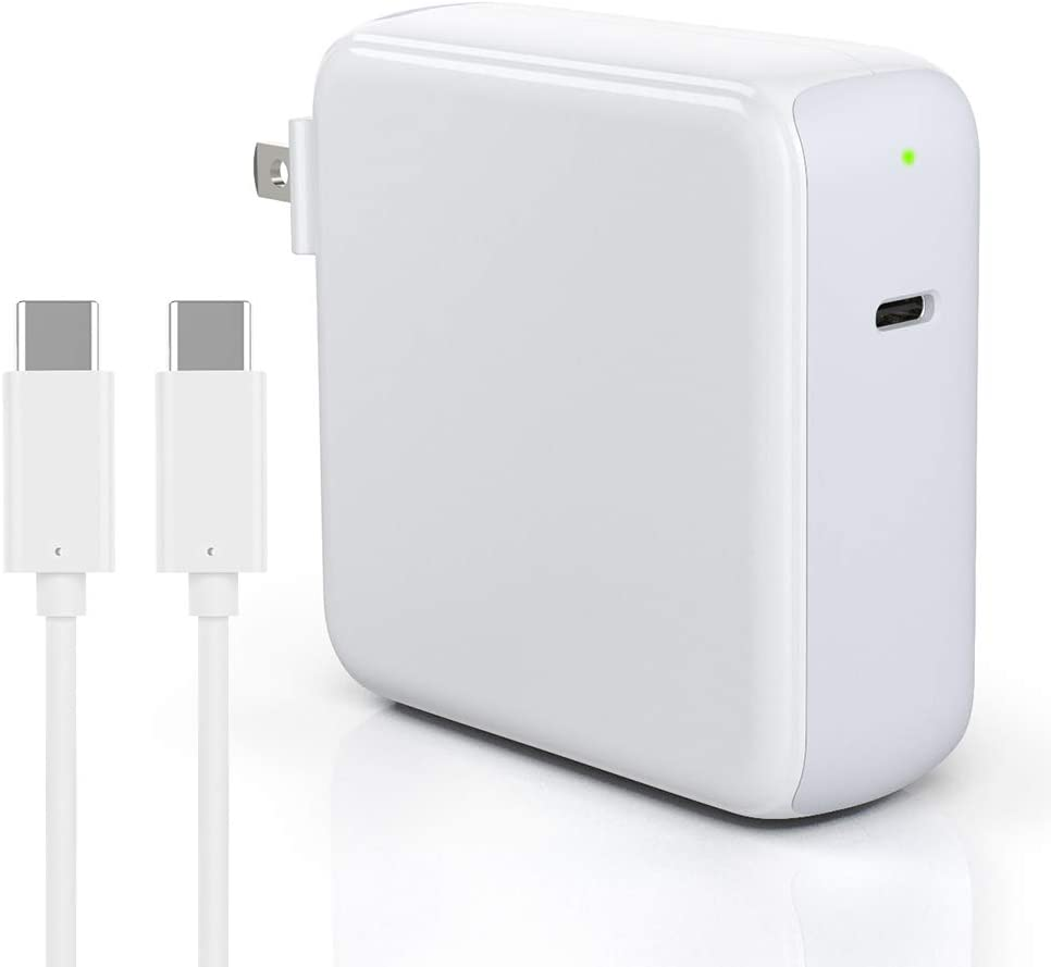 87W USB C Charger Power Adapter for MacBook Pro 15/13/16 Inch 2018 2019, 2020 New MacBook Air, Mac Book, iPad Pro 12.9 11 inch, Thunderbolt 3 Mac Charger