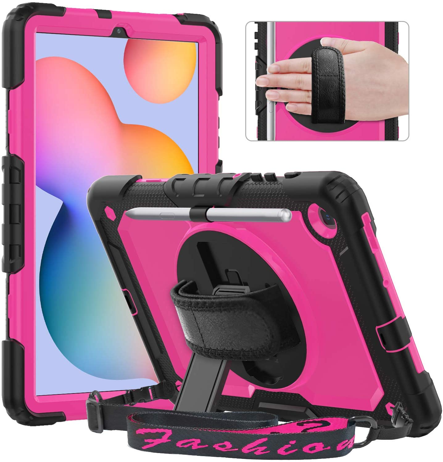 Timecity Case Compatible with Samsung Galaxy Tab S6 Lite 10.4